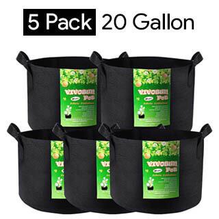 vivosun-20-gallon-grow-bags-for-carrots-5-pack