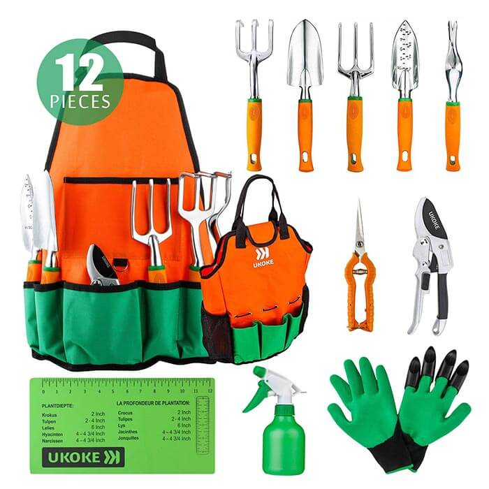 22-12 Piece Aluminum Hand Tool Set