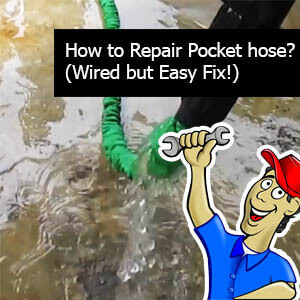 How to Repair Pocket hose? (Wired but Easy Fix)